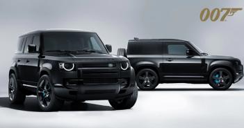 Land Rover anuncia edição especial Defender V8 Bond Edition