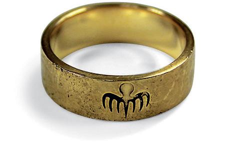 spectre ring gold oberhauser blofeld christoph waltz