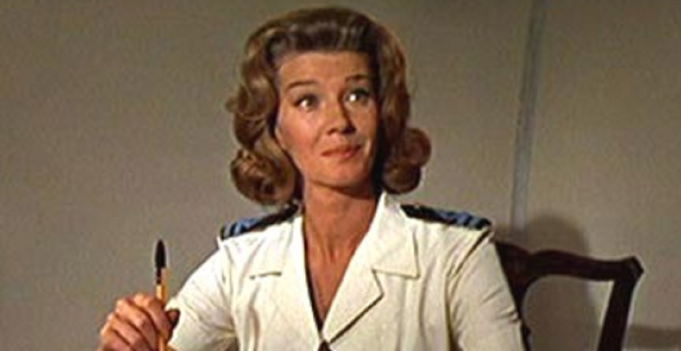 Miss Moneypenny, one of James Bond's allies