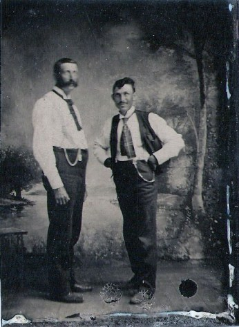 Chris and Andrew Climenhage, circa 1880