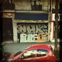 Paris Graffiti (Rephotographed)