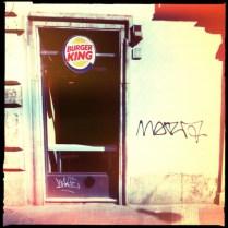 Burger King e Graffiti a Roma (Rephotographed) 6