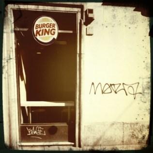Burger King e Graffiti a Roma (Rephotographed) 8
