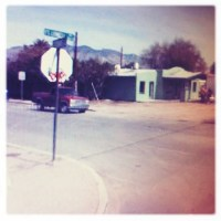 Lonely Tucson Tag (Rephotographed) – 5x
