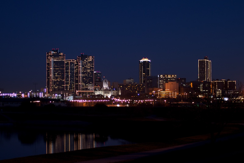 Fort Worth Skyline Night