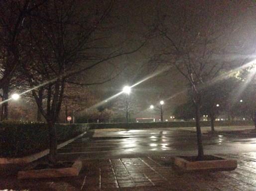 wet parking lot at night|20|©JamesECockroft-20140109