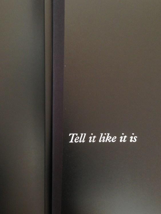 20150606 1548 Tell it like it is unboxing ©JamesECockroft 20150606