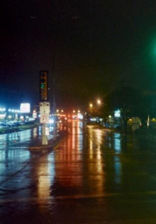 Preston Road, Rainy Morning