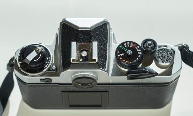 Nikon FE top plate