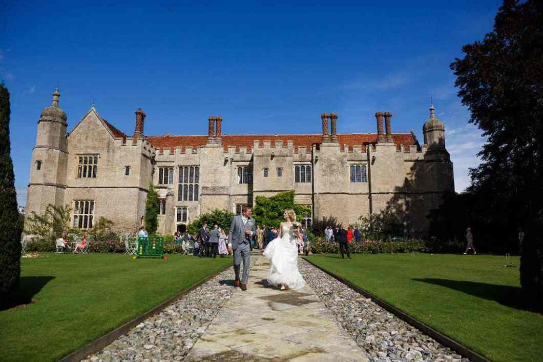 Hengrave Hall wedding photographs