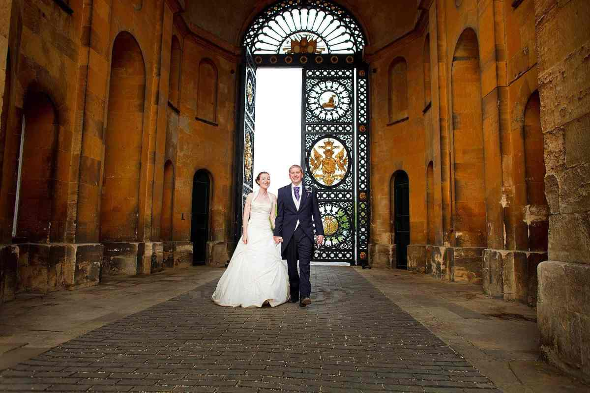 Blenheim Palace wedding photos