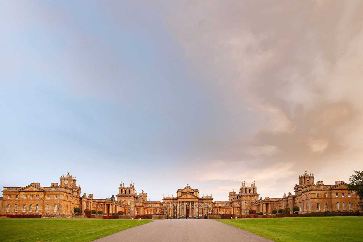 Blenheim Palace wedding photography