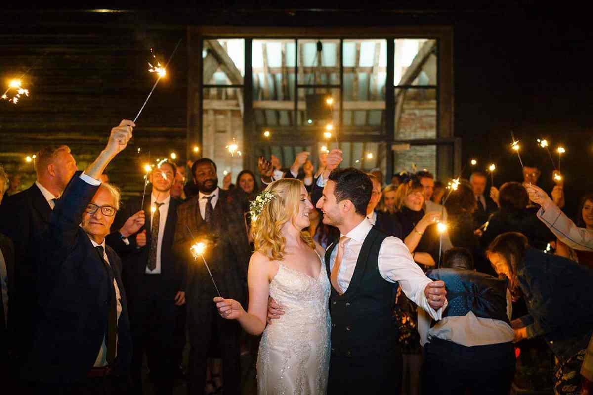 Henham Barns wedding