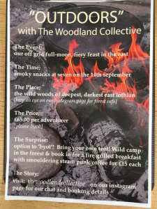 Woodland collective outdoor poster