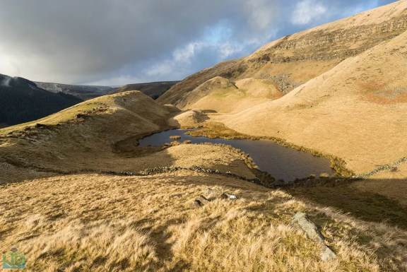 Alport Castles Pool - Peak District Landscape Photography