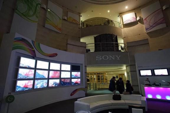 Sony HQ Foyer