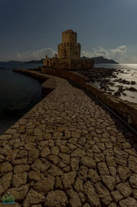 Methoni Moonlight - Greece Photography