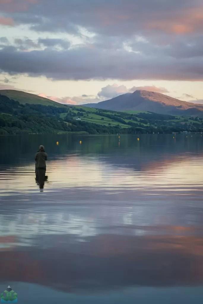 Bala Lake Fisherman - Snowdonia Photography