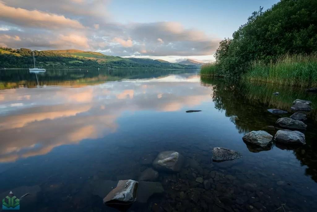 Bala Lake Sunset - Snowdonia Photography