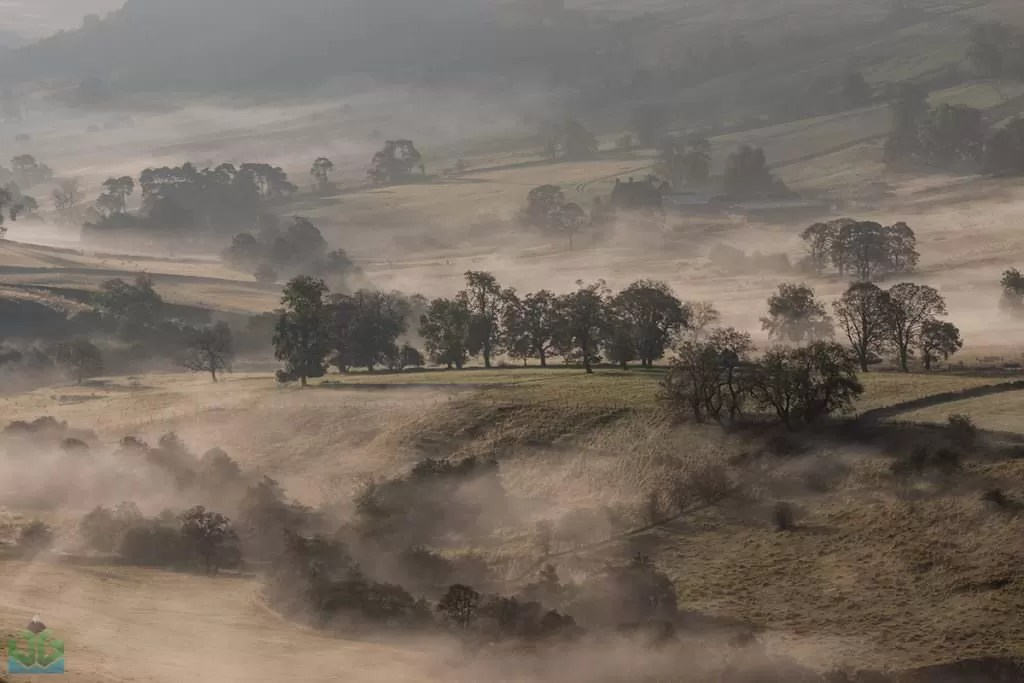 Crowdecote Mist - Autumn In The Peak District