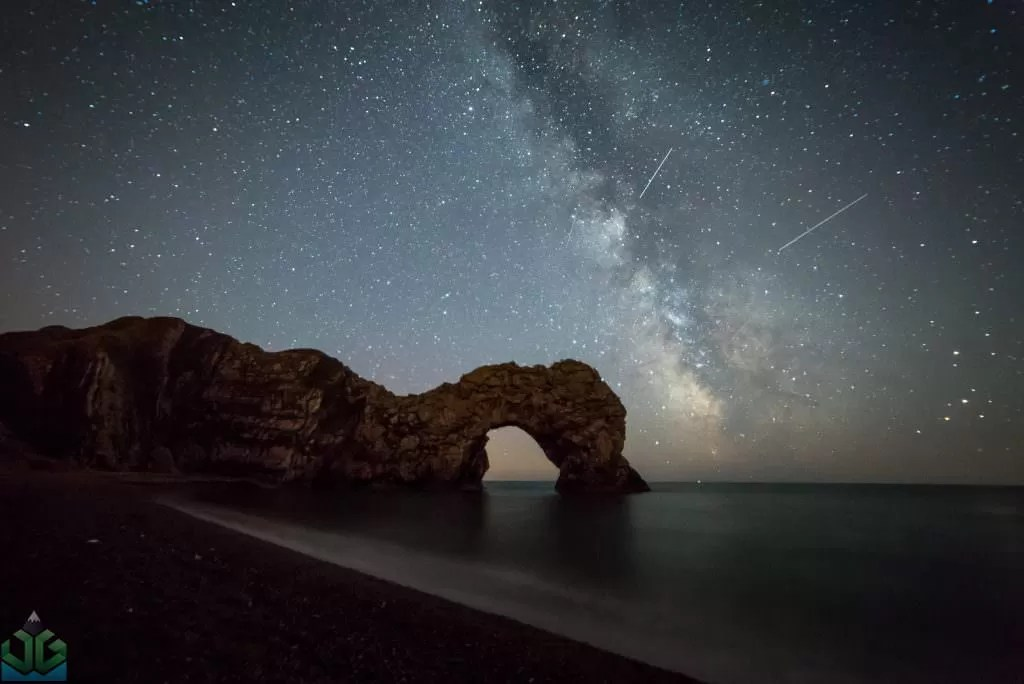 Durdle Door Milky Way - Dorset Photography