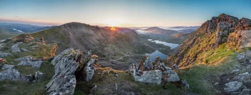 Snowdon Sunrise - Wild Camping Photography