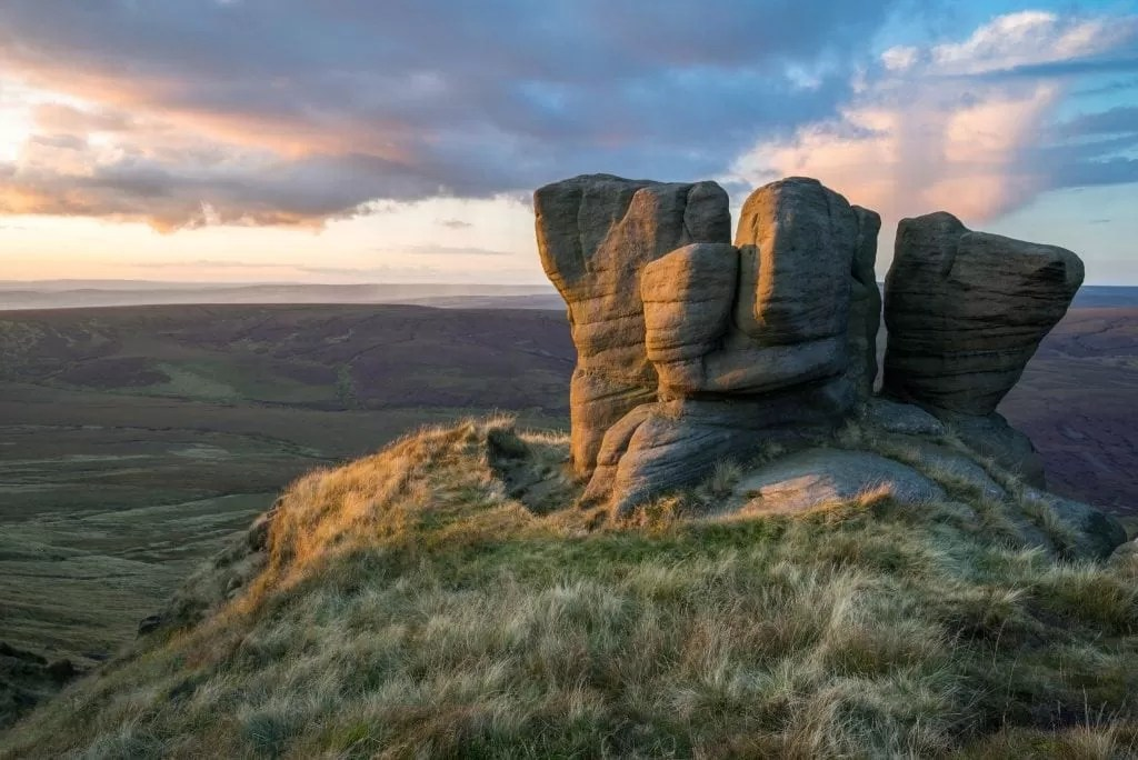 The Boxing Gloves -Kinder Scout - Peak District Photography