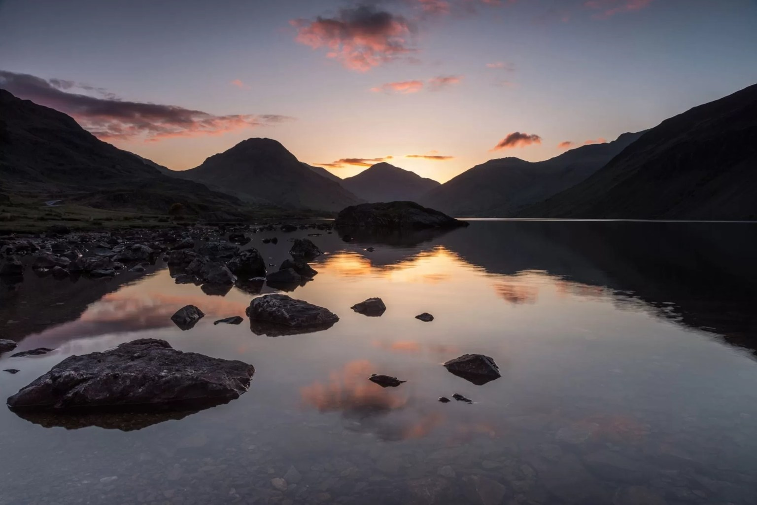 Wast Water Dawn - Lake District Photography