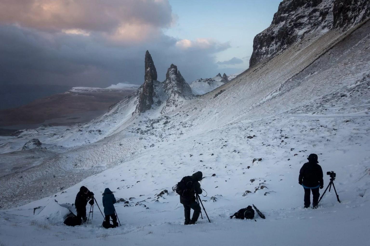 Old Man of Storr Sunrise - Isle of Skye Photography Workshop