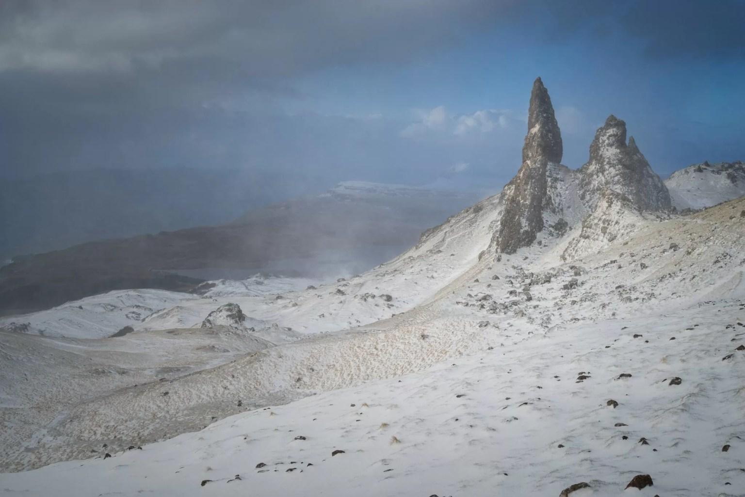 Old Man of Storr Winter Sunrise - Isle of Skye Photography Workshop