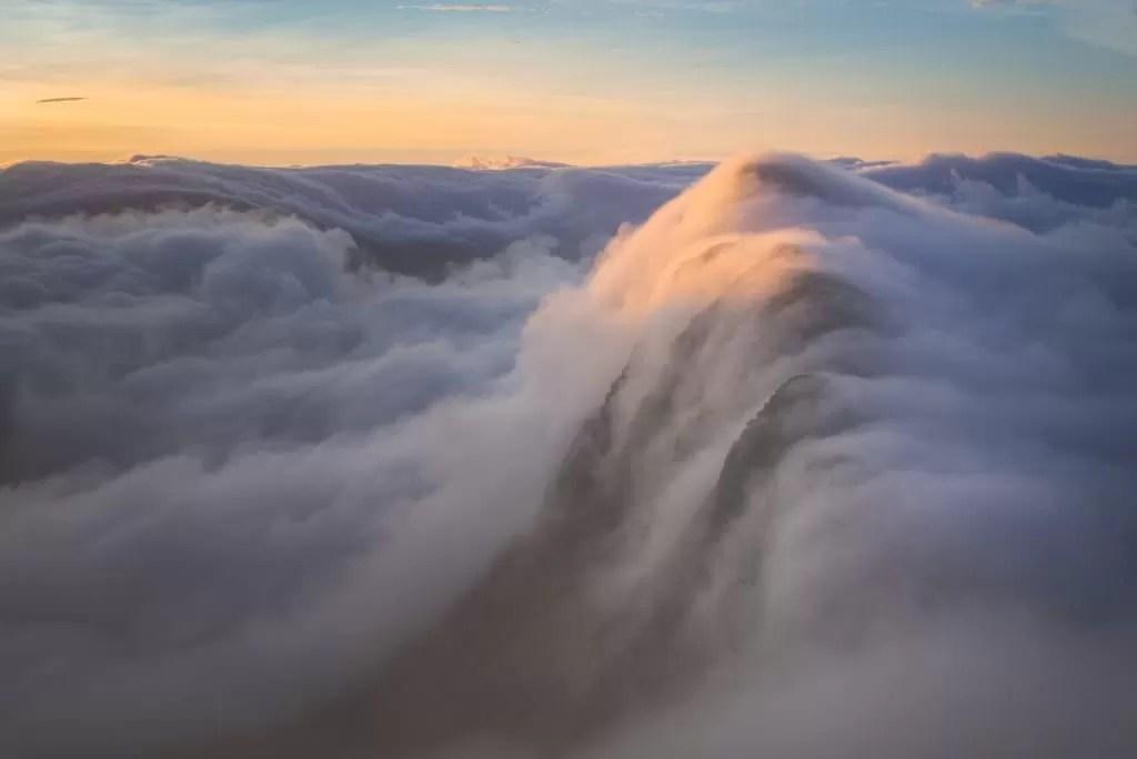 Suilven Sunrise Inversion Capped - Scotland Photography