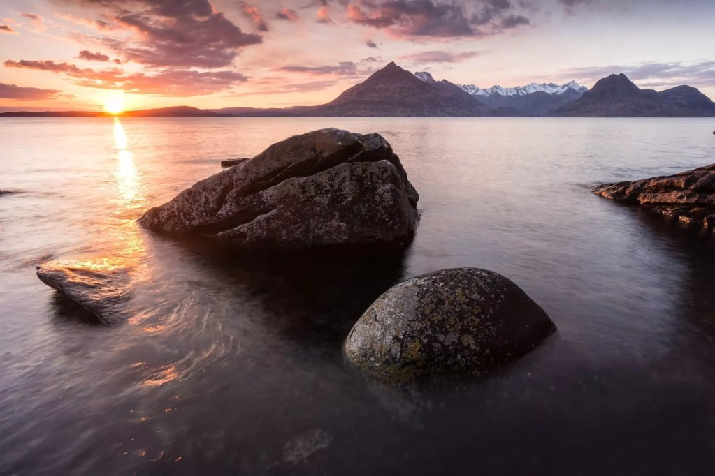 Elgol Sunset to the Cuillins - Scotland Photography Workshops