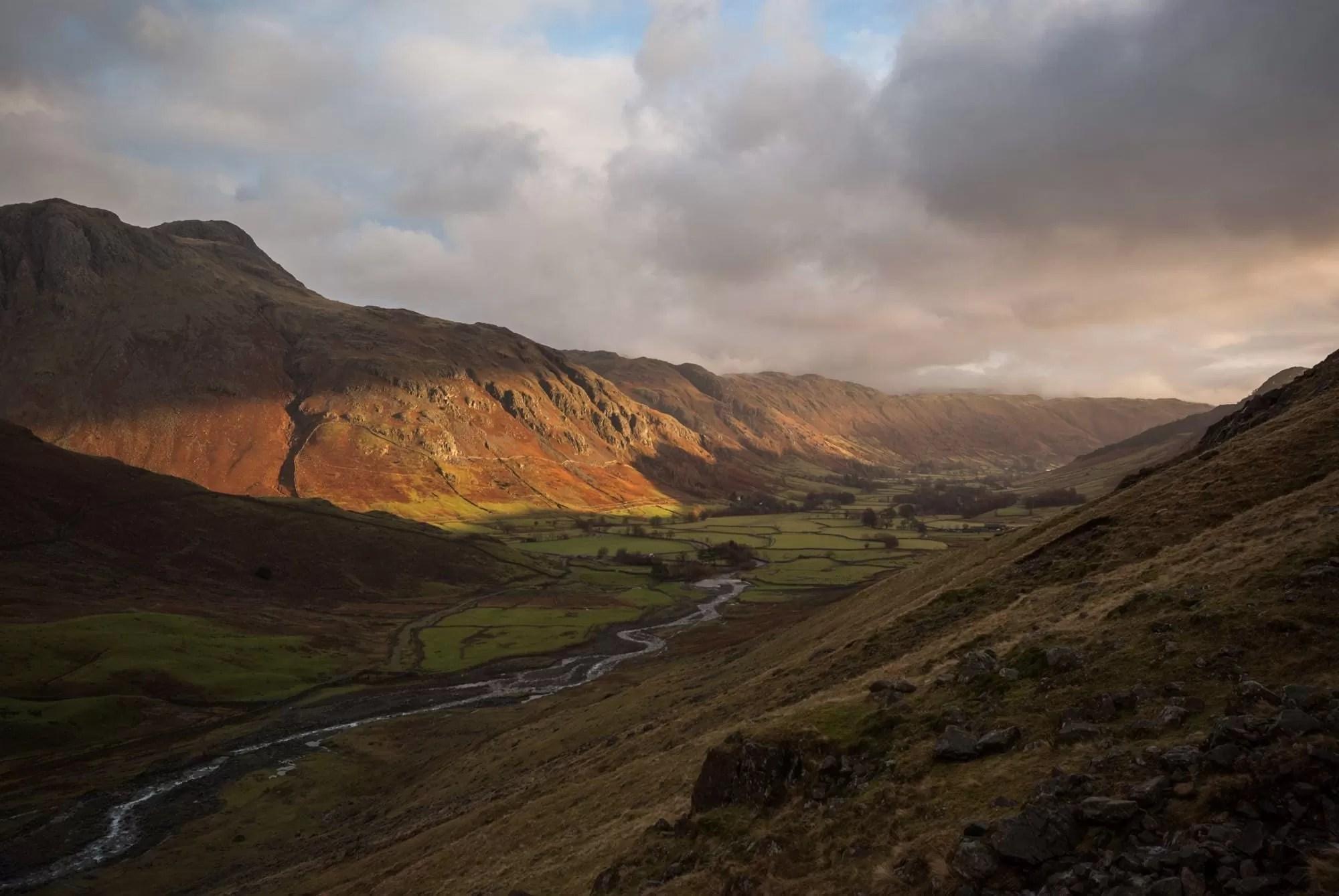 Langdales Sunrise - Lake District Photography Workshop