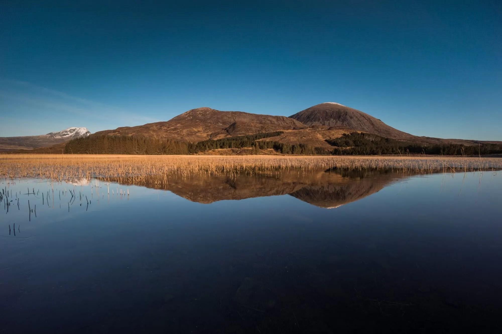 Loch Cill Chriosd Reflections - Scotland Photography