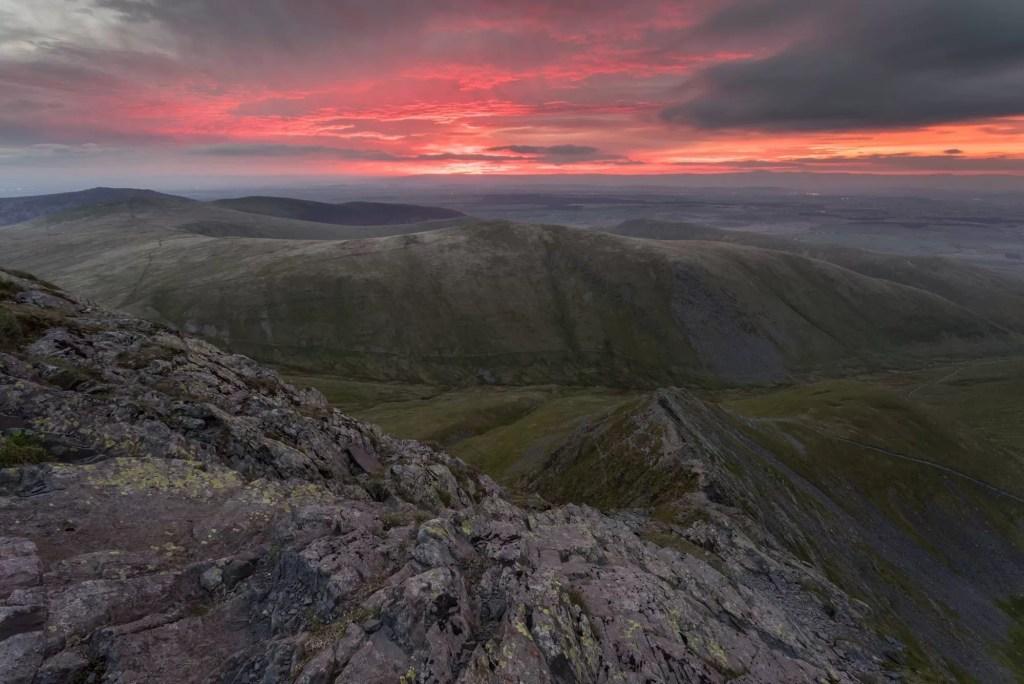 Sharp Edge Sunrise - Wild Camping Photography Workshop
