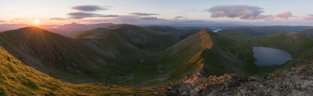 Swirral Edge - Helvellyn - Wild Camping Photography Workshop