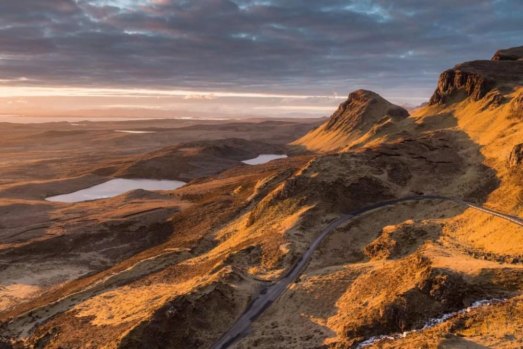 The Quiraing Sunrise - Isle of Skye - Scotland Photography Workshops
