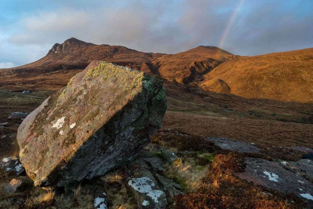 Leaning Boulder - Scotland Landscape Photography Workshops