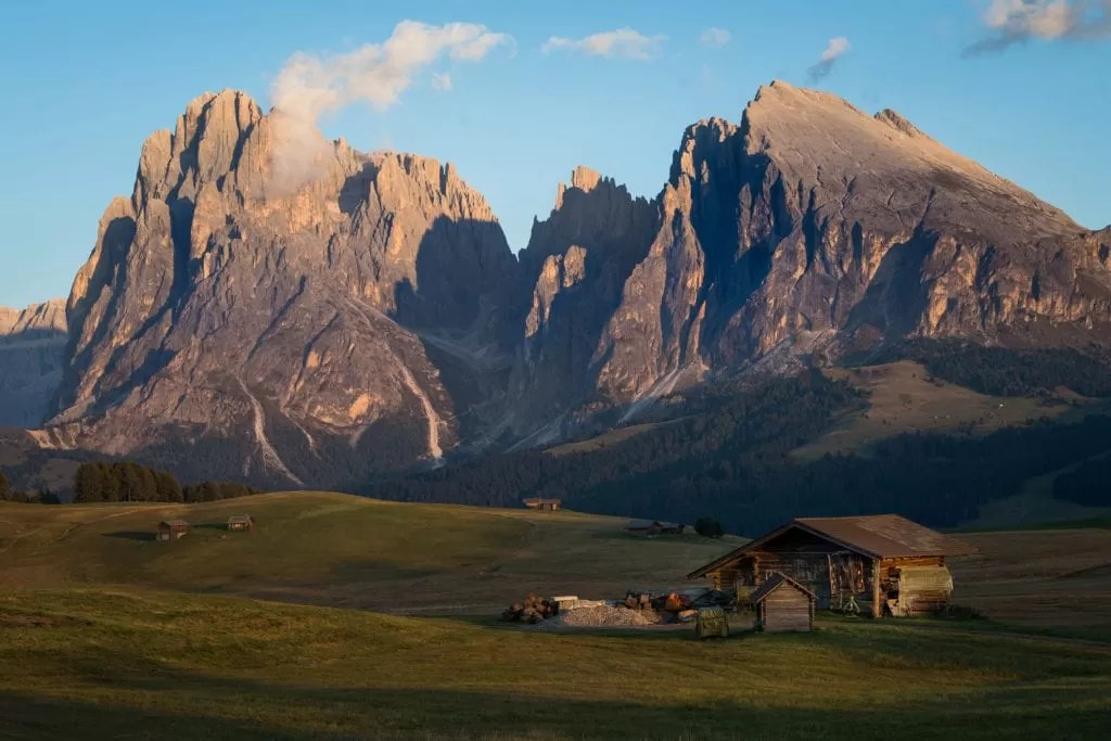 Alpe Di Siusi Sunset - Italian Dolomites Photography
