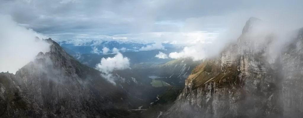 Mangart Saddle Panoramic - Slovenia Photography