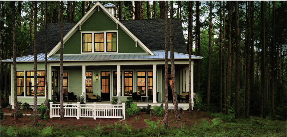 Heathered Moss Siding James Hardie