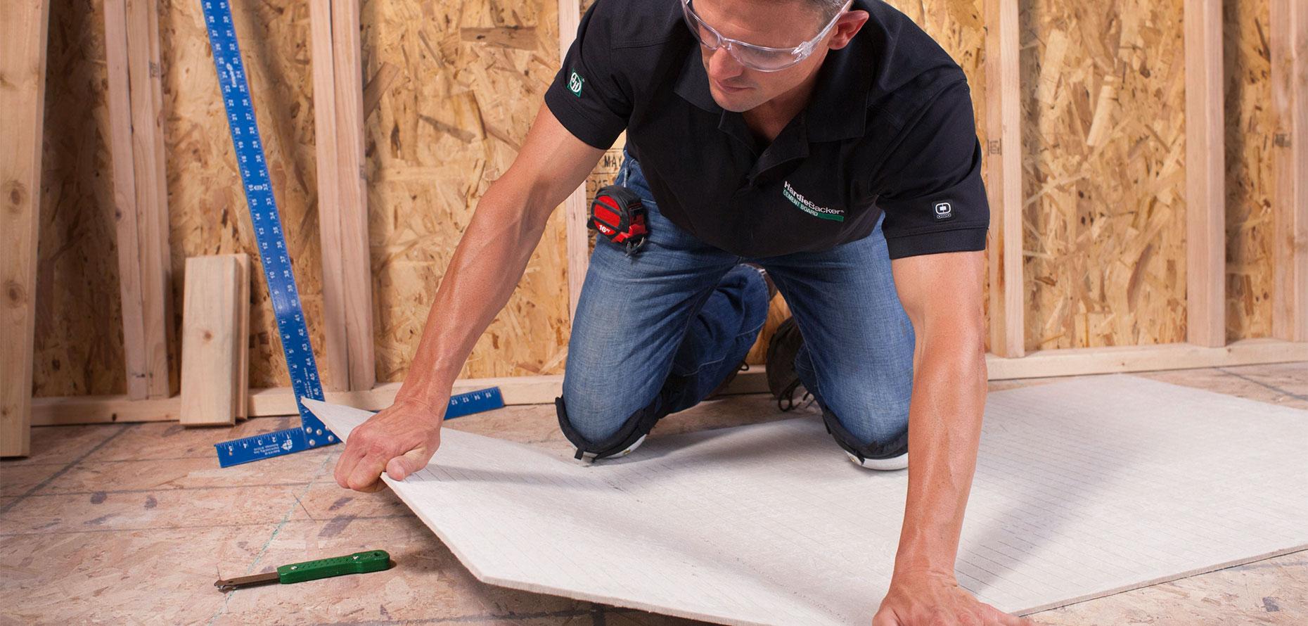 hardiebacker cement board tile backer