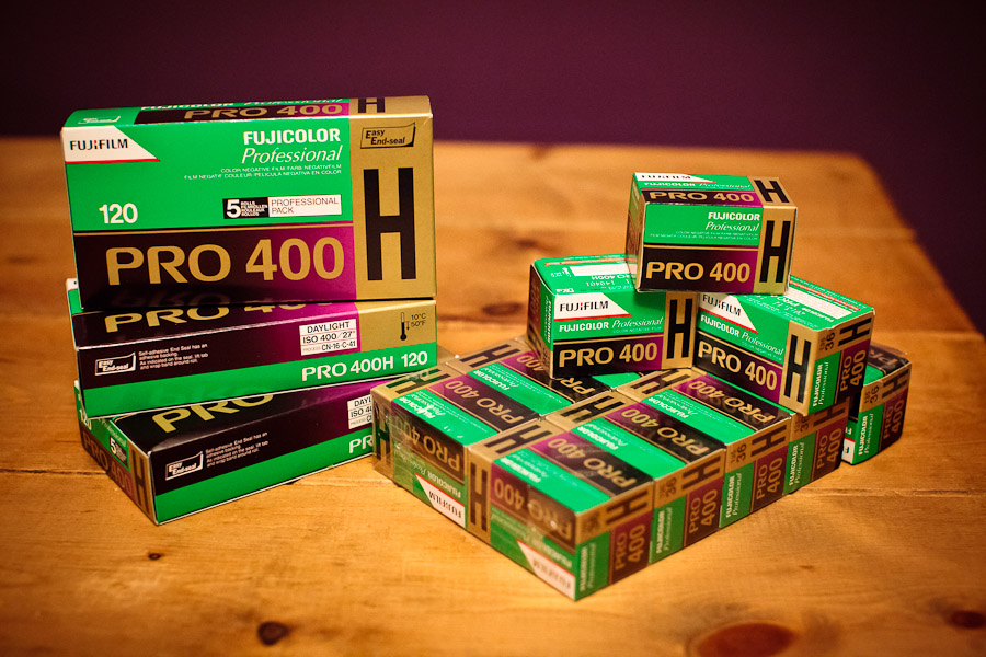 Fuji Pro 400H 135 and 120 Stash