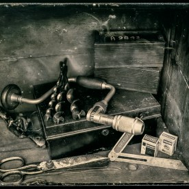 Forgotten Tools - Wet Plate Collodion Ambrotype