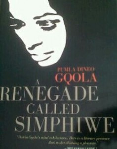 A renegade called Simphiwe now out.