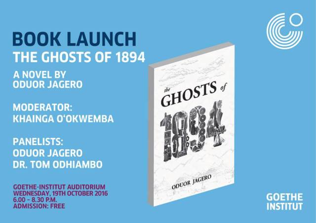 Jagero Oduor launches Ghosts of 1894 at Goethe Nairobi