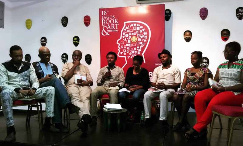 Authors at the Labaf festival 2016