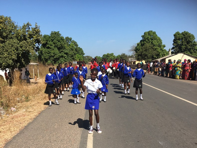 Mboka Kids rally in Gambia
