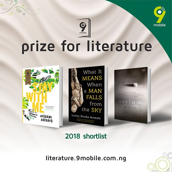9mobile Prize for Literature 2018 shorlist