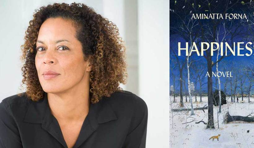 "Aminatta Forna and her ""Happiness"" novel."